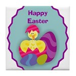 EASTER EGG Tile Coaster