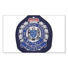 Victoria Prison Rectangle Sticker