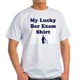 My Lucky Bar Exam Shirt Ash Grey T-Shirt
