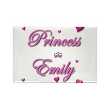 Princess Emily Rectangle Magnet (100 pack)