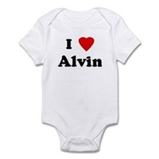 I Love Alvin Infant Bodysuit
