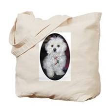 Beige Tote Bag (Image will appear darker) Murphy02