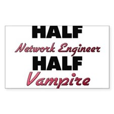Half Network Engineer Half Vampire Decal