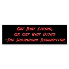 Shawshank Redemption - Living Bumper Bumper Sticker