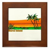 Unique Marcos Framed Tile