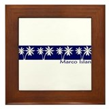 Cute Marcos Framed Tile