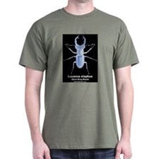 Giant Stag Beetle T-Shirt - Green
