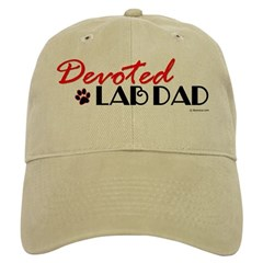 Devoted Lab Dad Cap
