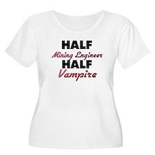 Half Mining Engineer Half Vampire Plus Size T-Shir