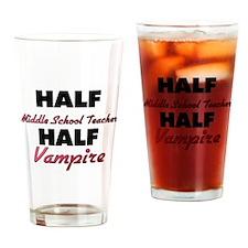Half Middle School Teacher Half Vampire Drinking G