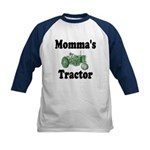 Momma's Tractor Kids Baseball Jersey
