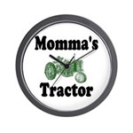Momma's Tractor Wall Clock