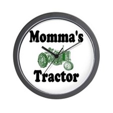 Momma's Tractor Wall Clock