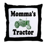 Momma's Tractor Throw Pillow