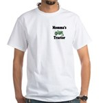 Momma's Tractor White T-Shirt