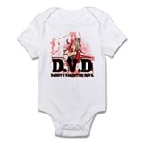 Daddy's Valentine Devil Infant Bodysuit