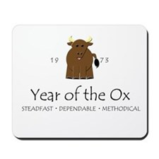 """Year of the Ox"" [1973] Mousepad"
