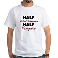 Half Medical Technologist Half Vampire T-Shirt