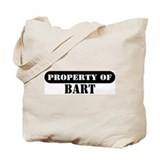 Property of Bart Tote Bag