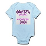 Gpa Spoils Girl Onesie