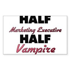 Half Marketing Executive Half Vampire Decal