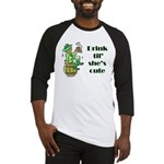 ST PATRICK'S DAY-IRISH DRINK Baseball Jersey