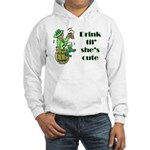 ST PATRICK'S DAY-IRISH DRINK Hooded Sweatshirt