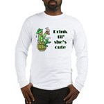 ST PATRICK'S DAY-IRISH DRINK Long Sleeve T-Shirt