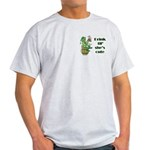 ST PATRICK'S DAY-IRISH DRINK Ash Grey T-Shirt