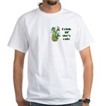 ST PATRICK'S DAY-IRISH DRINK White T-Shirt