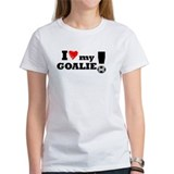 I Love My Goalie -Soccer Tee