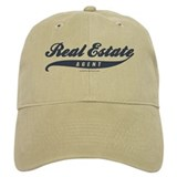 SPORTY (with Faux Stitching) Baseball Cap for the Realtor
