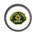 Imperial Sheriff Wall Clock