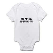 Yo * las mariposas Infant Bodysuit