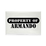 Property of Armando Rectangle Magnet (100 pack)