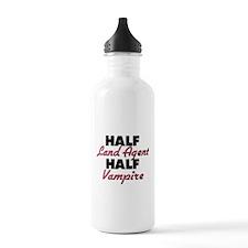 Half Land Agent Half Vampire Water Bottle