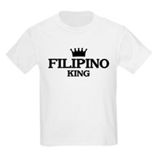 filipino King Kids T-Shirt