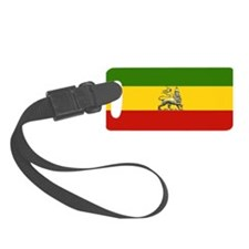 Rasta Ethiopian Lion Luggage Tag