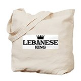 lebanese King Tote Bag