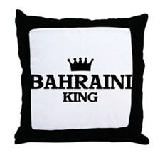 bahraini King Throw Pillow