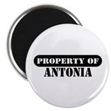 "Property of Antonia 2.25"" Magnet (10 pack)"