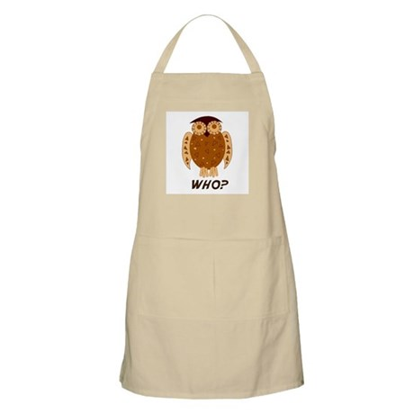 Who Owl BBQ Apron