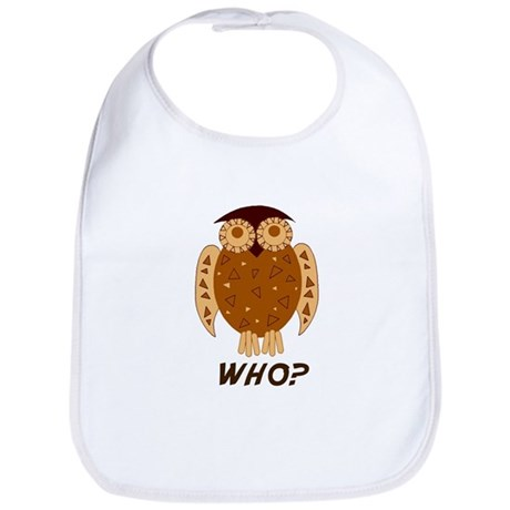 Who Owl Bib