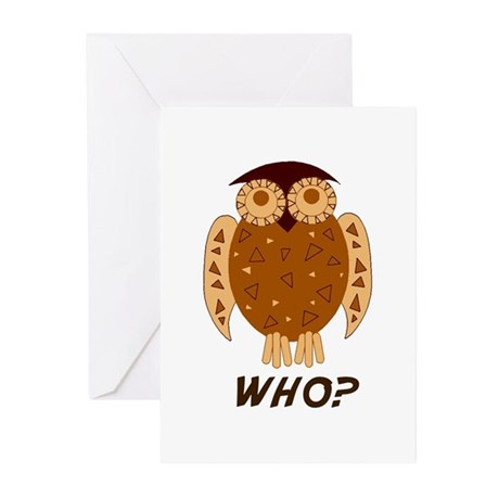 Who Owl Greeting Cards (Pk of 10)