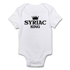 syriac King Infant Bodysuit