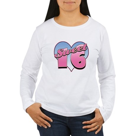 Sweet 16 Heart Women's Long Sleeve T-Shirt