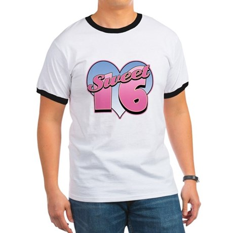 Sweet 16 Heart Ringer T