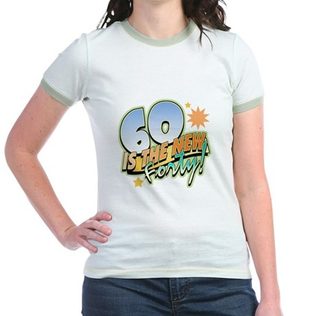 60 New Forty Jr. Ringer T-Shirt