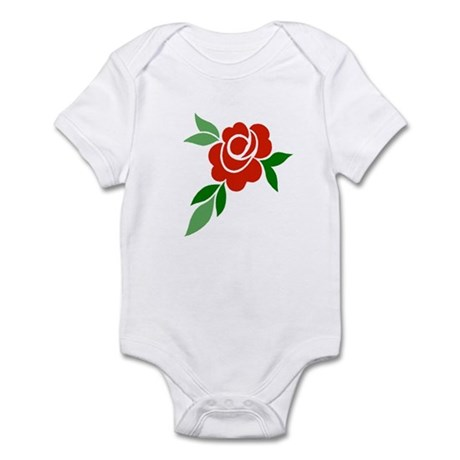 Red Rose Infant Bodysuit