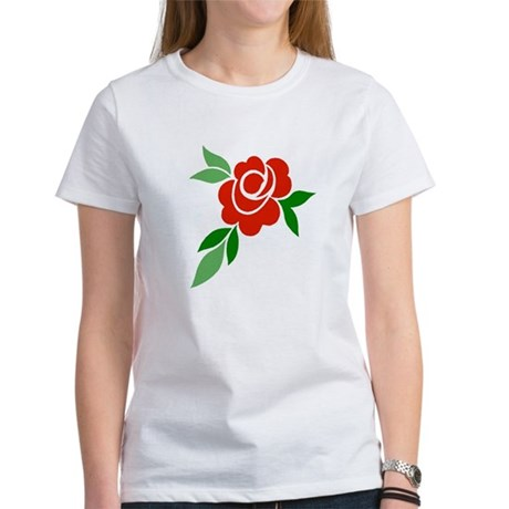 Red Rose Women's T-Shirt